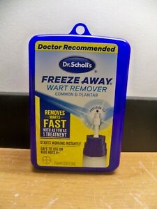 NEW DR SCHOLL'S FREEZE AWAY WART REMOVER 7 TREATMENTS X 11/21 FREE 1SRT CLC S&H