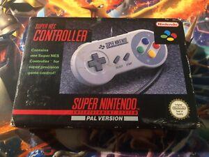 SNES Super Nintendo Controller - BOX ONLY! NO CONTROLLER! GC #2
