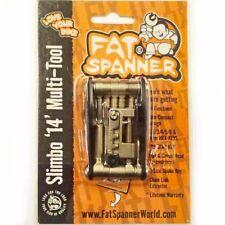 Fat Spanner slimbo 14 Attrezzo multifunzione bici mtb bicicletta Hex Allen Key Chain Tool