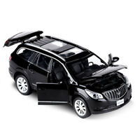Buick Enclave Model Cars Toys 1:32 Sound & Light Gifts  Alloy Diecast New Black