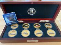 Bradford Exchange Legendary Shipwreck Gold Crown Collection Proof Set