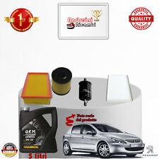 Filtres Kit D'Entretien + Huile Peugeot 307 2.0 16V 103KW 140CV à partir de 2010