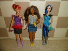 BARBIE FASHIONISTA DOLLS WITH BAGS SHOES & NECKLACES