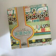 *ItsOnlyCrafts* Bo Bunny Paper Pad 6x6'' Ad Lib - 36 sheets