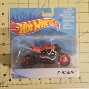 2019 Hot Wheels X-BLADE ( RED ) Street Power MOTO Motorcycle Bike 1:18 NEW X7723