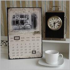Magnetkalender Kalender aus Metall im Used-Look
