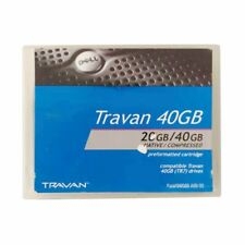 More details for dell travan 20gb / 40gb tr7 data cartridge, used, as pictured