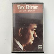 Tex Ritter High Noon & Other Hits (Cassette)