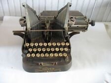 VTG OLIVER NO. 3 STANDARD VISIBLE BATWING TYPEWRITER  4 PARTS AND/OR REPAIR
