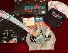 2019 Ironman La Quinta Indian Wells 70.3 Memorabilia Gear Shirt Medal Bib # Im