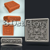 3D STL Model for CNC Router Carving Machine Box Relief Artcam aspire Cut3D