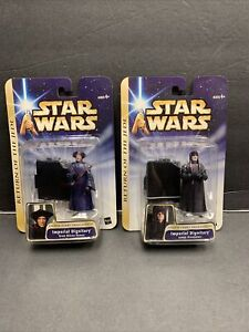 Star Wars Saga IMPERIAL DIGNITARY KREN BLISTA-VANEE and janus greejatus 2 pack