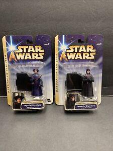 Star Wars Saga IMPERIAL DIGNITARY KREN BLISTA-VANEE and janus greejatus 2 pack