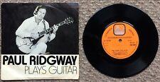 "Paul Ridgway.. Plays Guitar 1973 7"" Orange Label LS 1737 EP"