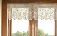 "Heritage Lace Champagne RHAPSODY 60"" W x 16"" L Valance - Made in USA!"