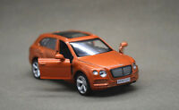 1:43 BENTLEY Bentayga SUV Alloy Car Model Pull Back Vehicles Kids Toy