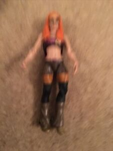 WWE Becky Lynch Action Figure 2016 mattel With Glasses Rare