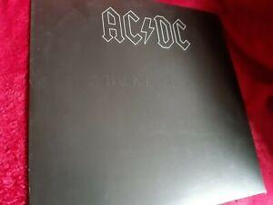 AC/DC - Back In Black Vinyl LP Record Album Embossed Sleeve