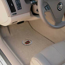 2008-2011 Cadillac DTS Light Shale Lloyd Ultimat Set of 2 Front Mats with Logo
