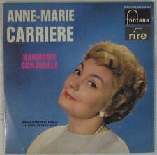 Anne-Marie Carrière 45 tours Harmonie conjugale