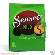 Senseo Douwe Egberts, Mild Roast Coffee Pads, 5 Packs Of 36 Coffee (180 Pods).