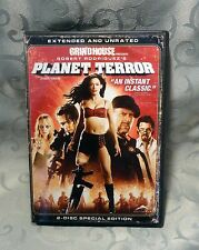 Grindhouse Presents Robert Rodriguez's Planet Terror Extended & Unrated 2007 DVD