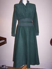 Womens's Schubette Green Needlecord Dress size 10