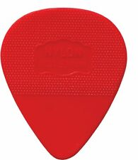 HERDIM Red Nylon Pick, 10-pack Medium German-made High Quality Guitar Plectrum