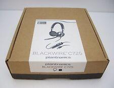 PLANTRONICS BLACKWIRE C725-M MS BINAURAL USB UC ACTIVE NOISE-CANCELING Headset