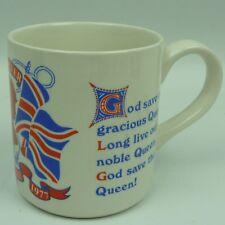 Commemorative Mug Royal The Queen's Silver Jubilee Adams English Ironstone