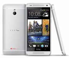 HTC ONE MINI (M7 MINI) SILVER - 16GB - UNLOCKED - 4G - MOBILE PHONE