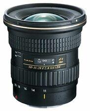 Tokina 11-20mm F/2.8 AT-X Pro DX Cámara Lente para Canon - Negra