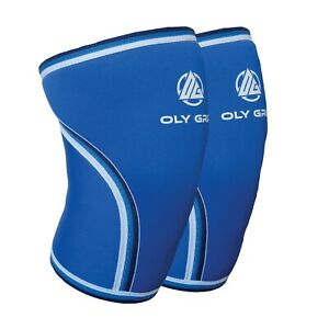 Knee Sleeves for Weightlifting 7mm (Pair) Squats, Powerlifting, CrossFit
