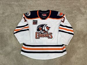 Bakersfield Condors Game Worn Used AHL 18/19 Jersey CCM Quicklite Oilers Vesey