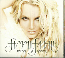 BRITNEY SPEARS - FEMME FATALE 2011 EU CD CRIMINAL HOLD IT AGAINST ME I WANNA GO