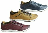 Brand New Ferricelli Murphy Mens Leather Lace Up Casual Shoes Made In Brazil