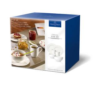 """Villeroy & Boch """"FOR ME"""" - Frühstücksset für 2 Personen - 10-4153-7041 - Neu-"""