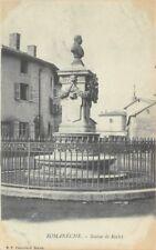 Romanèche - statue of RACLET