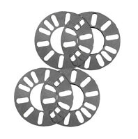 Wheel Spacers Alloy Steel x4 New Heavy Duty Aluminium 4 and 5 stud fit 3mm