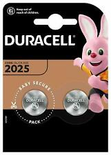 DURACELL CR2025 Bouton Lithium 3 V Blister de 2 Piles - Date 2029
