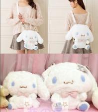 Lolita Cute Cinnamoroll Plush Cross Body Messenger Shoulder Doll Backpack Bag
