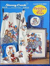 Cross Stitch Pattern Teddies & Toys Collector Series Afghan Design Old Fashioned