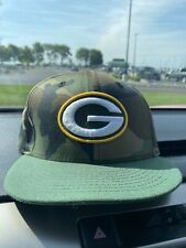 New Era 59Fifty Mens NFL Green Bay Packers Camo Adjustable