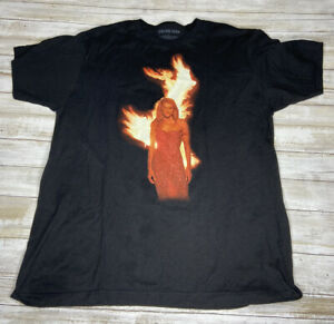 Official Tour Celine Dion Women's Size Large Courage Concert T-Shirt