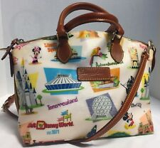 *Dooney & Bourke *Disney*Walt Disney World RETRO*Satchel*18049G S204