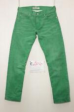 Levi's 506 standard verde jeans usato (Cod.E206) Tg.45 W31 L34 vintage