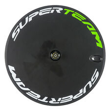 700C Superteam Carbon Disc Wheel Road Bike Disk Carbon Wheels Rear Bicycle Wheel
