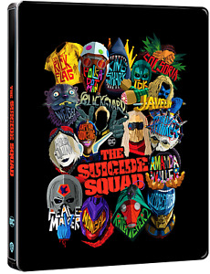 THE SUICIDE SQUAD 4K UHD COLLECTORS STEELBOOK/PRE-SALE/REGION FREE/WORLDWIDE P+P