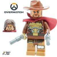 Lego McCree Minifigure split from set 75972 NEW Overwatch Minifig
