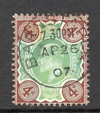 Bullseye/SOTN Pre-Decimal Great Britain Edward VII Stamps
